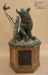 Chatterbox <br>Life-size Bear Sculpture by Sam Terakedis - Art Castings of Montana, Inc. Sam Terakedis Art Casting Foundry