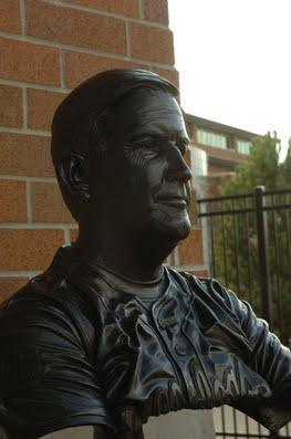 Gonzaga Bust <br> by Dennis Harrrington - Art Castings of Montana, Inc. Dennis Harrington Art Castings of Montana