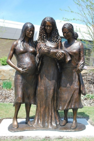 Hope, Love & Life (Life-size) MARYANN EIKENS- Art Castings of Montana, Inc.