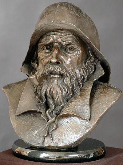 Mariner<br> Sculpture by Philippe Faraut - Art Castings of Montana, Inc. Philippe Faraut Art Cast Foundry