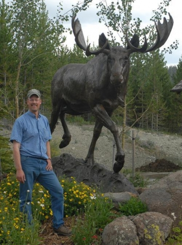 The Wanderer (1.25 Life-size) TIM SHINABARGER- Art Castings of Montana, Inc.